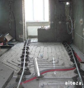 "Photo of repair of the apartment ""turnkey"" in the area of the bus station of Poltava, including the design project, the construction company Alteza-3."