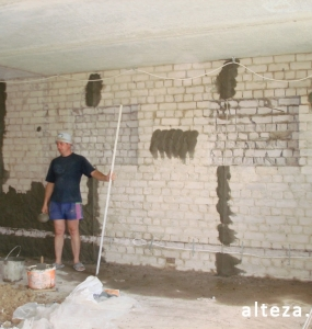 "Photo of repair of the apartment ""turnkey"" in the area of the bus station of Poltava, including the design project, the construction company Alteza-4."