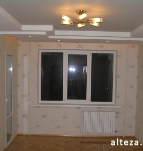 Photo repair of apartment and interior design on the street. Borovikovsky in Poltava from the construction company Alteza-3.