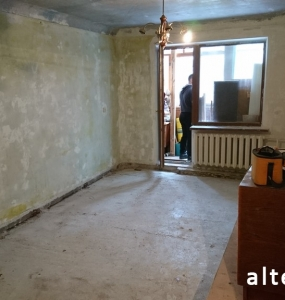 "Photo repair of the apartment ""turnkey"" and interior design on the street. European in Poltava, construction company Alteza-13."