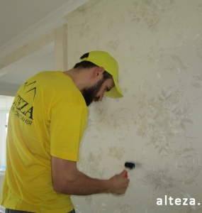 "Photo repair of the apartment ""turnkey"" and interior design on the street. European in Poltava, construction company Alteza-2."