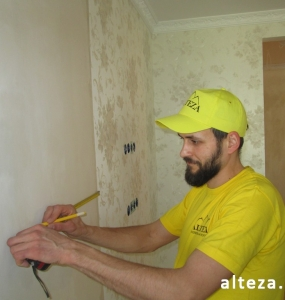 "Photo repair of the apartment ""turnkey"" and interior design on the street. European in Poltava, construction company Alteza-3."