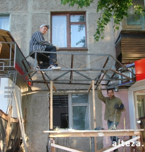 Photo repair of apartment and interior design on the street. Borovikovsky in Poltava from the construction company Alteza-6.