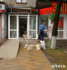 Photo repair of apartment and interior design on the street. Borovikovsky in Poltava from the construction company Alteza-7.