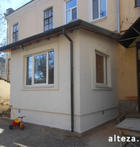 Photos of the capital construction of the extension to the residential building on the street. Kozak in Poltava by the builders of Alteza-1.