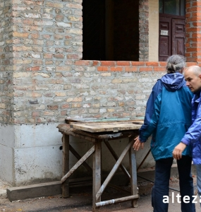 Photos of the capital construction of the extension to the residential building on the street. Kozak in Poltava by the builders of Alteza-11.