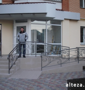 Photo of the overhaul of the office premises on the street. Heavenly Hundreds in Poltava, made by employees of the construction company Alteza-9.