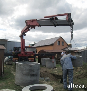 "Photo of the capital construction of a country cottage ""turnkey"" in the village. Mountain of Poltava region by builders of Alteza Company-18."