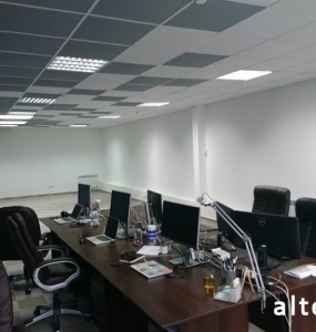 Photo of the overhaul of the office premises on the street. Kotlyarevsky in Poltava from the construction company Alteza-6.