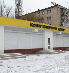 Photo of the overhaul of the premises of the Golden Slon store in Poltava, made by the employees of the Alteza construction company-3.