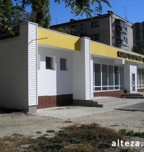 Photo of the overhaul of the premises of the Golden Slon store in Poltava, made by the employees of the Alteza construction company-8.