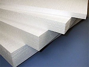 Photo of a pinoplast used for facade insulation by the Alteza company in Poltava.